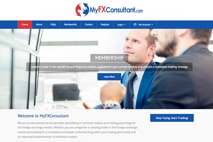 Myfxconsultant Homepage