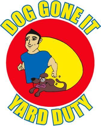 Dog Gone It Yard Duty Logo