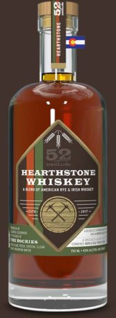 52eighty hearthstone whiskey bottle