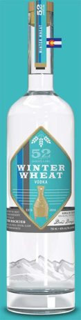 52eighty winter wheat vodka bottle