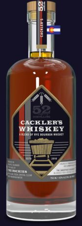 52eighty cracklers whiskey bottle