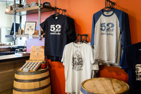 52eighty tasting room menu merchandise
