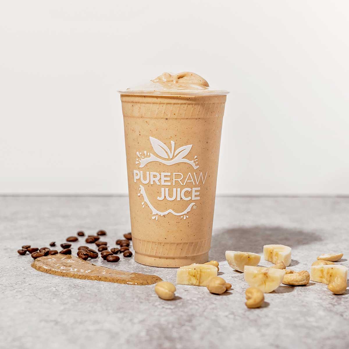 Nitro Coffee Shake Pure Raw Juice
