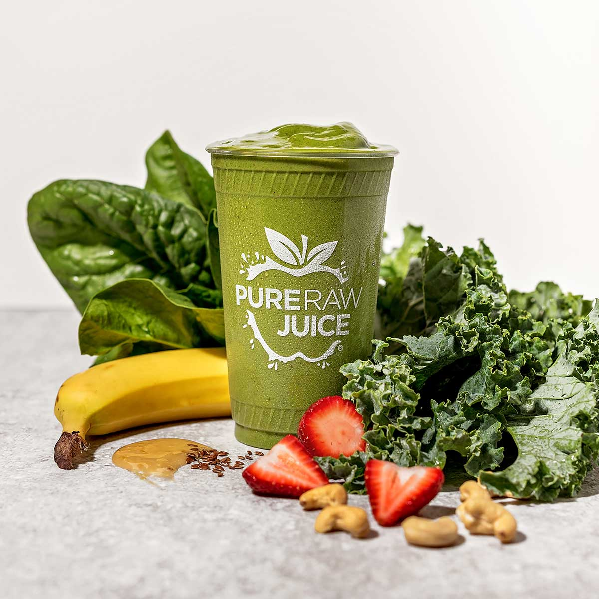 Pure Raw Juice Green Giant Smoothie