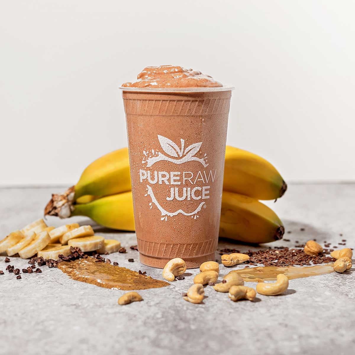 Pure Raw Juice Almond Butter Cup