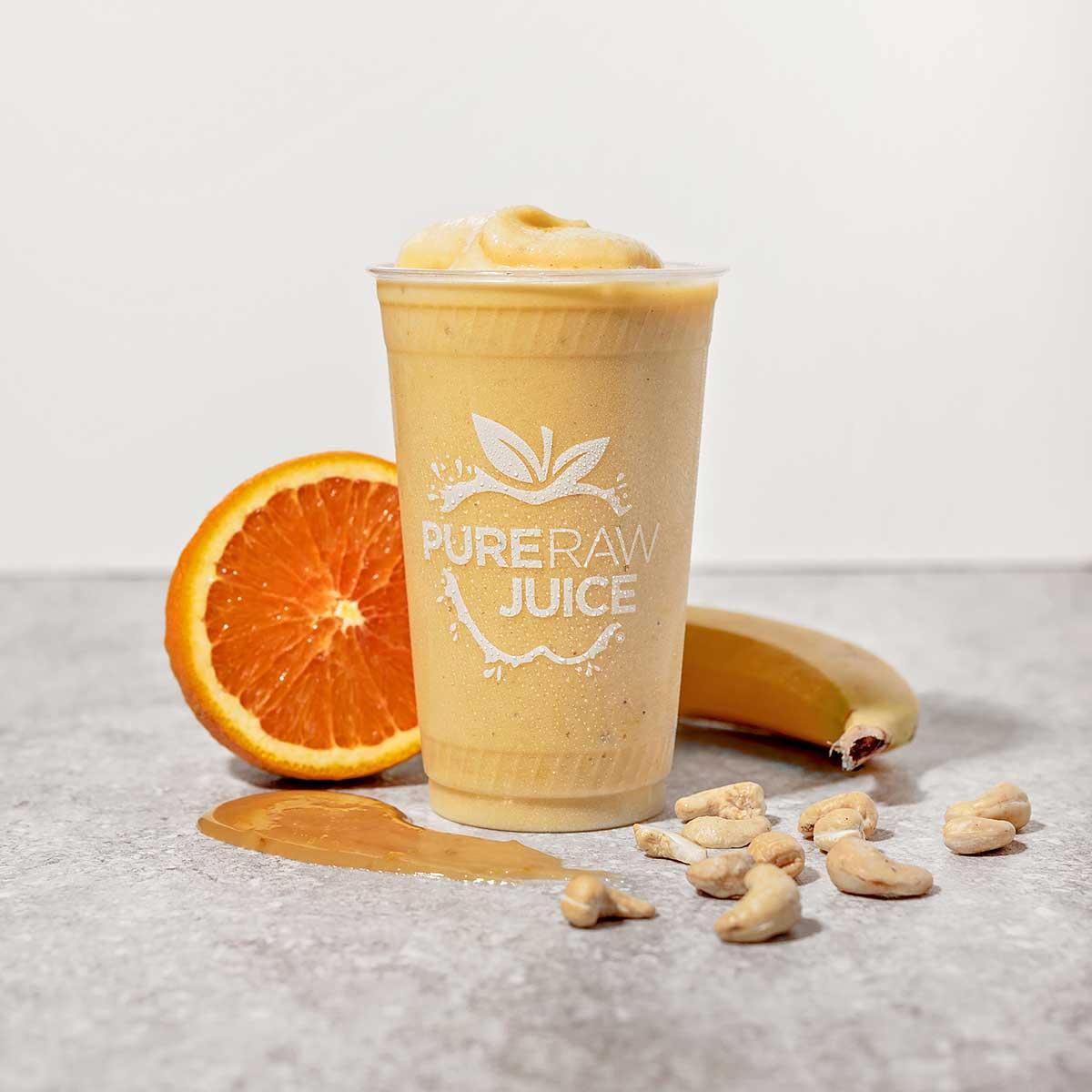Pure Raw Juice Orange Julius Smoothie