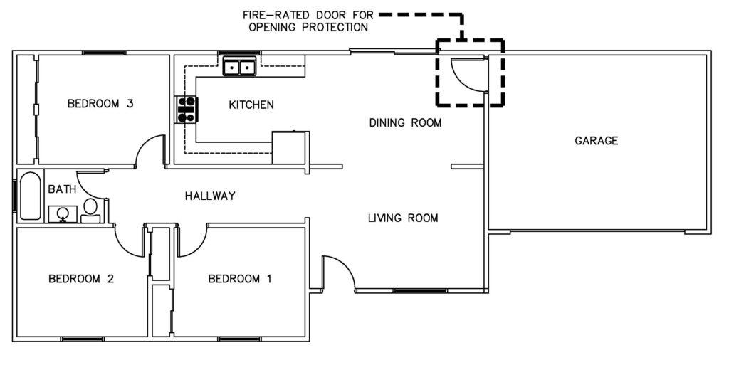fire rated door for garage