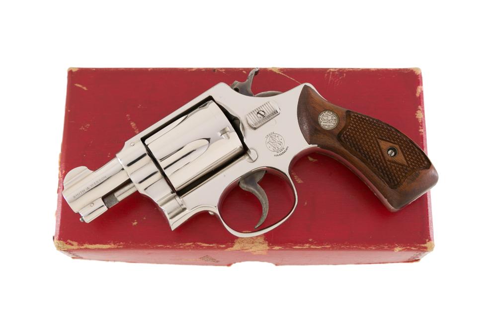Smith & Wesson Nickel Baby Chief Pre Model 36