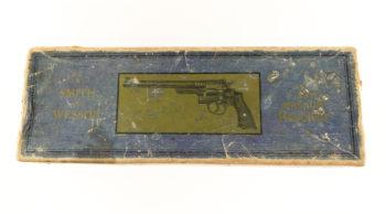 Smith & Wesson .357 Registered Magnum Box Rare TYPE I Pre War