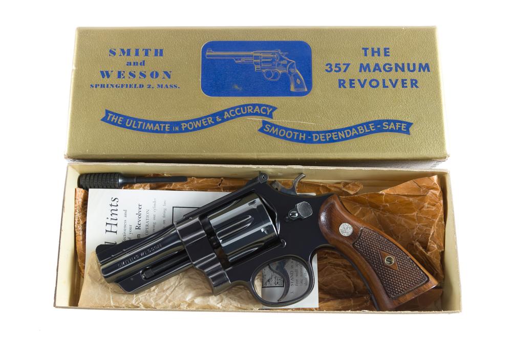 "Smith & Wesson Pre Model 27 3 1/2"" .357 Magnum"