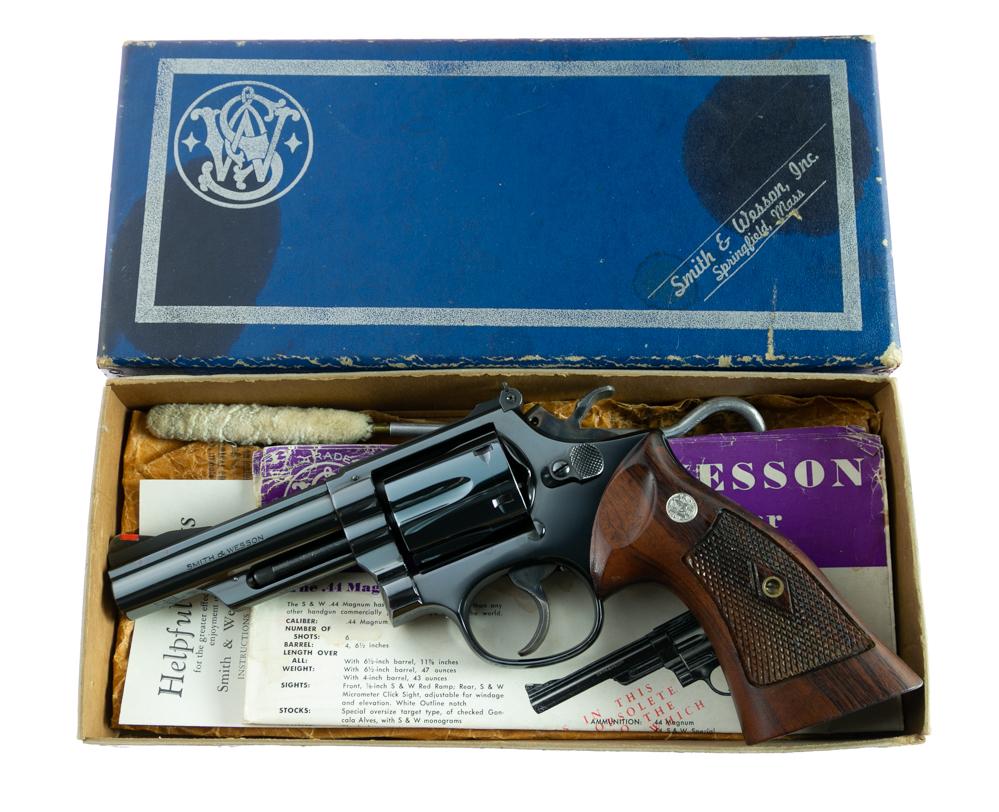 Smith & Wesson Pre Model 19 .357 Combat Magnum