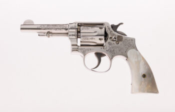 Factory Oscar Young Engraved Smith & Wesson 3rd Change .38 M&P