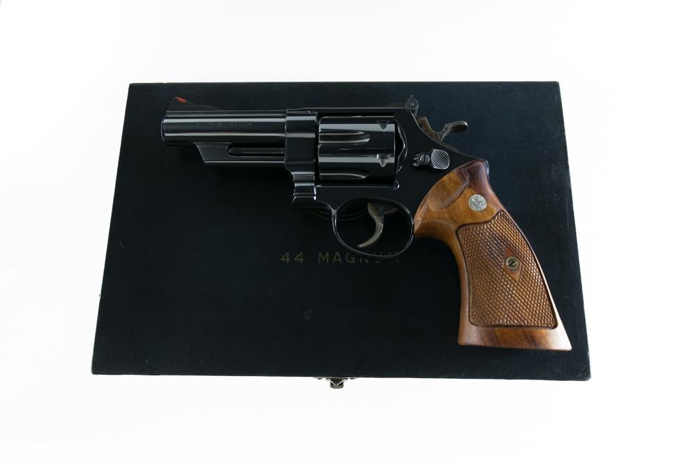 """Smith & Wesson Pre Model 29 .44 Magnum 4"""" San Antonio Texas"""