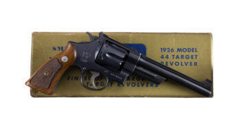 ULTRA RARE Smith & Wesson Model of 1926 .44 Hand Ejector 3rd Model TRANSITION TARGET