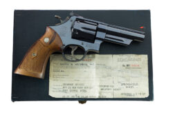 "Smith & Wesson Pre Model 29 .44 Magnum 4"" 5-Screw"
