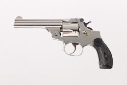 """Smith & Wesson .38 Double Action Perfected 4"""" Nickel"""