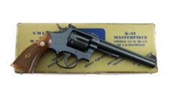 Smith & Wesson Pre Model 16 K-32 Masterpiece RARE 4-Screw