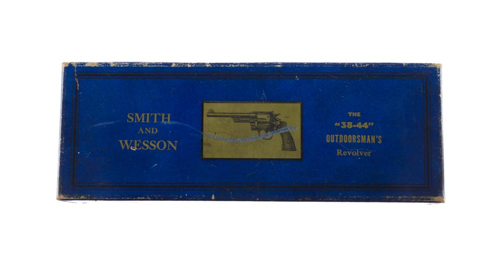 Smith & Wesson Pre War .38/44 Outdoorsman Box