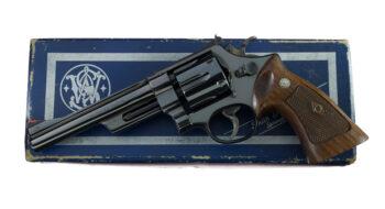"Smith & Wesson Model 27 No Dash 4-Screw 6"" .357 Magnum"