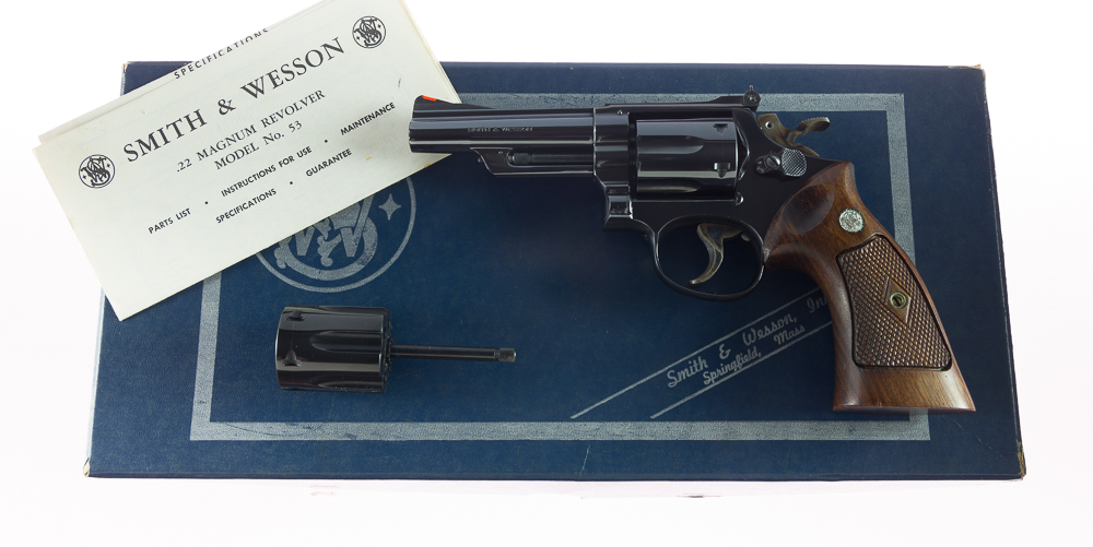"""Smith & Wesson Model 53 .22 JET 1st Year Special Order 4"""""""