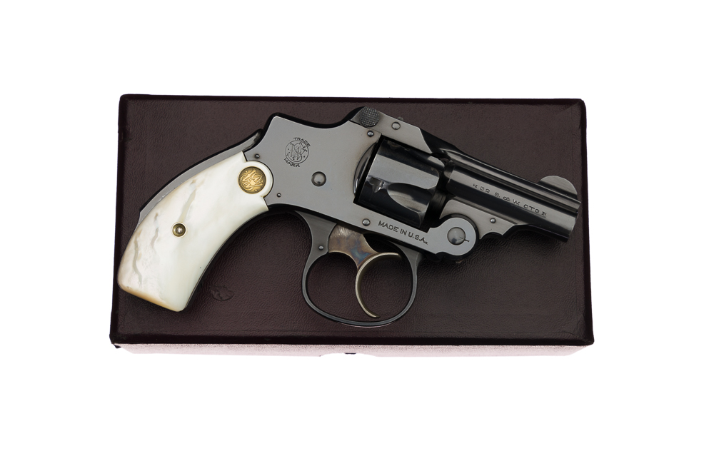 Smith & Wesson .32 Safety Hammerless 3rd Model Bicycle Gun