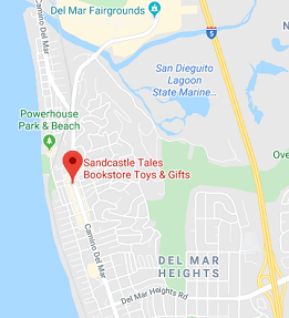 sandcastle tales of del mar bookstore map