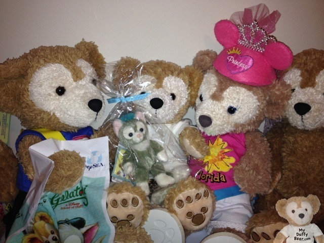 Duffy the Disney Bear new friend Gelatoni