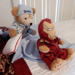 Duffy the Disney Bear Iron Man Costume
