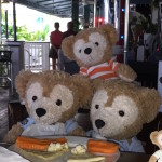 Duffy the Disney Bear's brother Little Joe Photo Bombs the picture