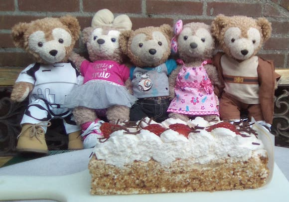 Duffy the Disney Bear's cousins that live in the Netherlands or as Duffy would like to believe - they live in Neverland!
