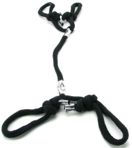 MyEquip-Fetish Fantasy Series Silk Rope Hogtie