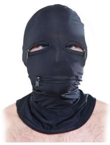 MyEquip-Fetish Fantasy Zipper Face Hood
