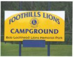 Foothills Lions Campground