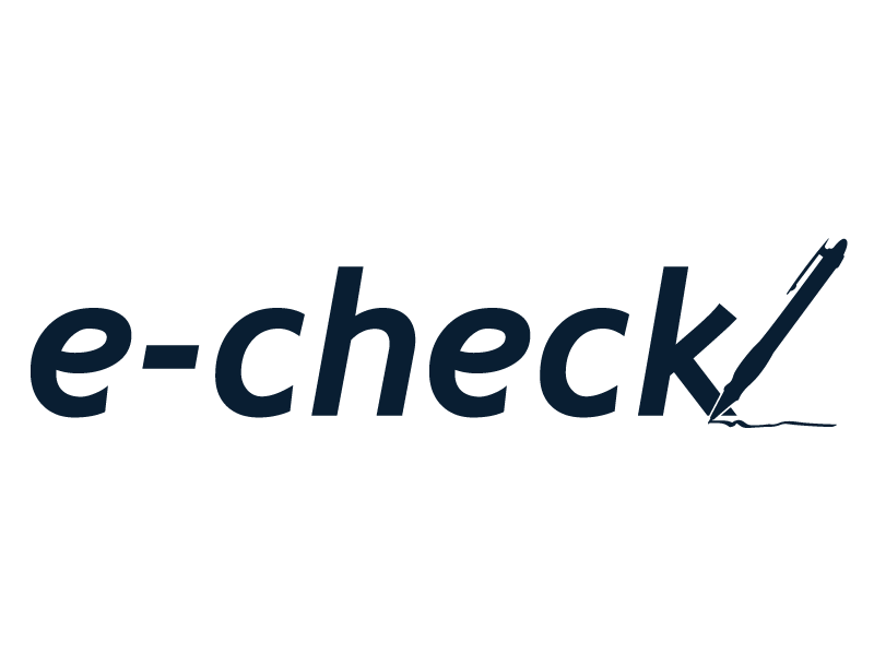 Electronic Check Logo