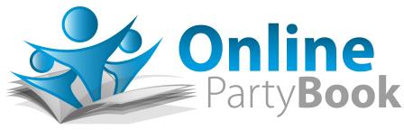 Online Party Book Logo Fundraising Platform
