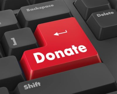 Donate Online Keyboard Button