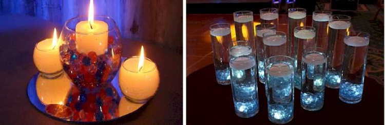 13 Decoration Options With Candles In Cups inverted