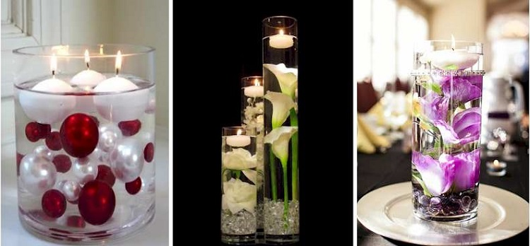 12 Decoration Options With Candles In Cups inverted