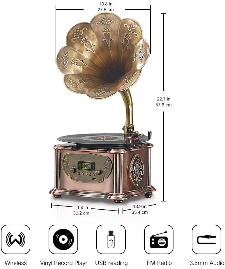 Victrola & Phonograph Decor