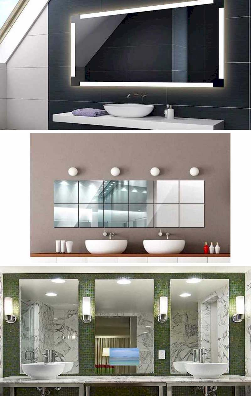 Bathrooms: Decor with Modular Mirrors
