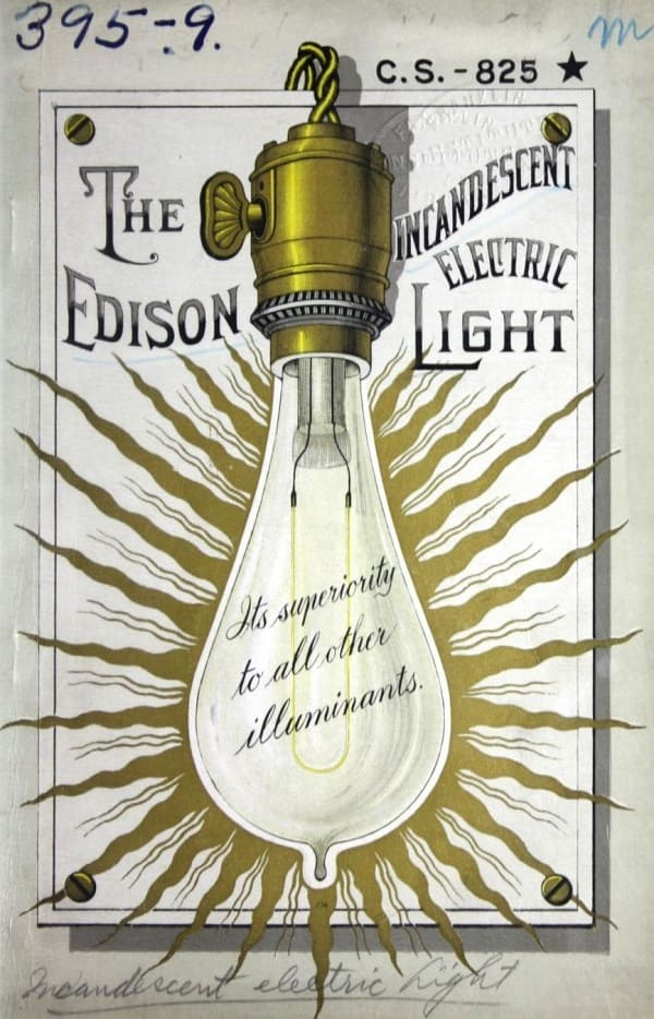 Vintage Edison Electric Ligth