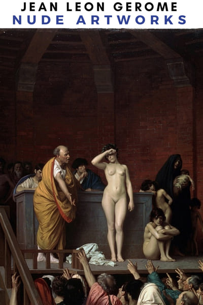 Jean Leon Gerome Nude Artworks Poster -  Atelier