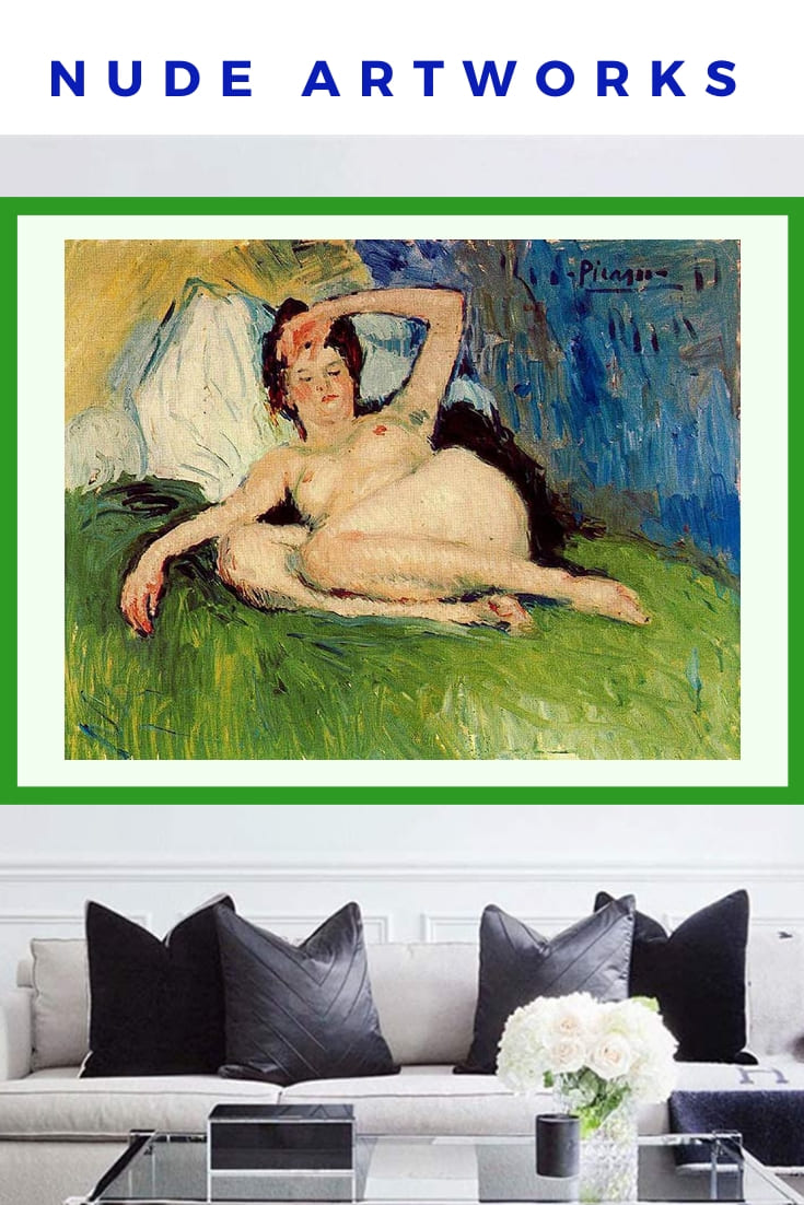 Picasso Nude Artworks Poster