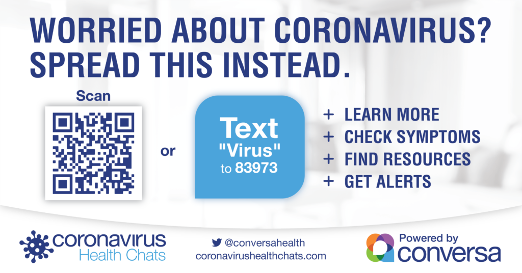 Learn More About CoronaVirus Health Chat