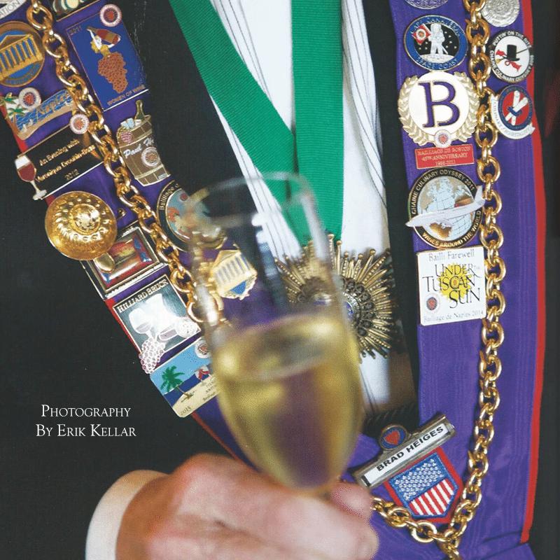 Naples Chaine Induction Ceremony