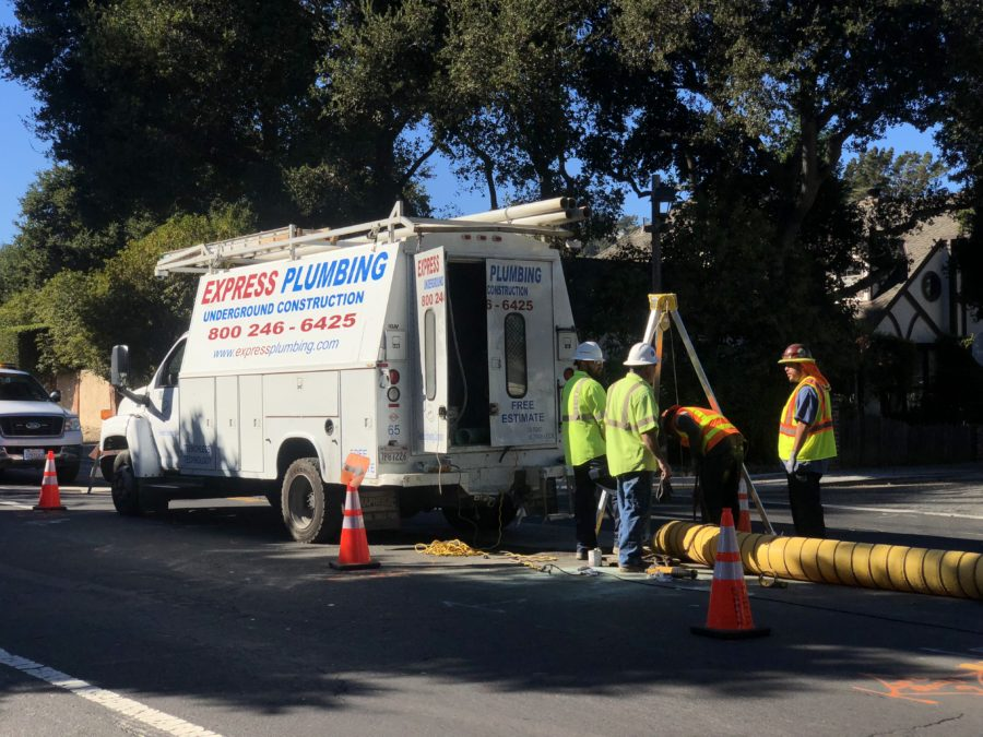 City of Belmont Pipe Reaming Project