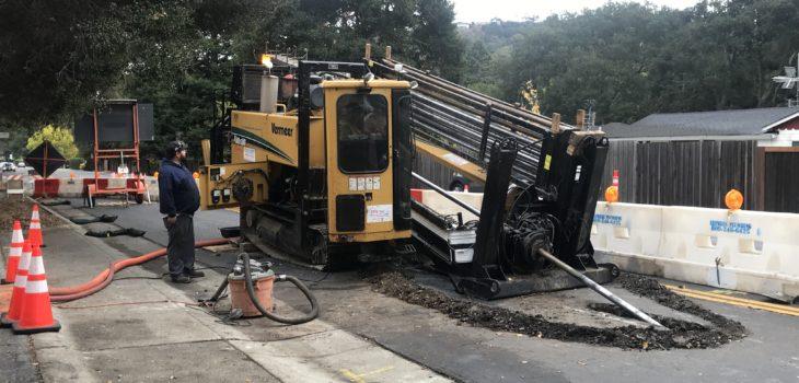 Bay Area Underground Utilities Contractor Electric Conduit Installer