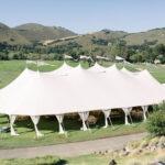 wedding tent reception at Carmel Valley Ranch