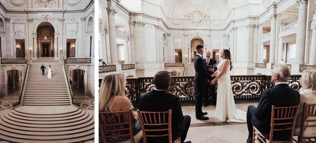 Intimate Wedding at City Hall