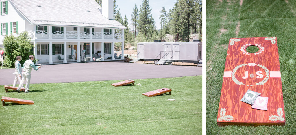 Lawn games for entertainment